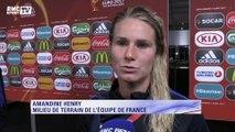"""France-Islande (1-0) – Amandine Henry : """"Beaucoup de stress et de pression"""""""
