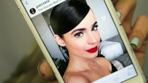 Lipstick Tutorial: Glowy Red Carpet Glam