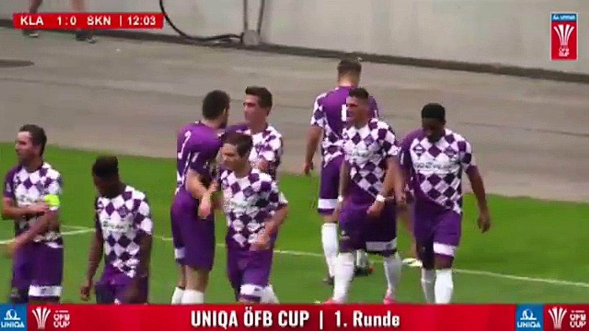 Austria Klagenfurt 2:1 Sankt Pölten (Austrian Cup 18 July 2017)