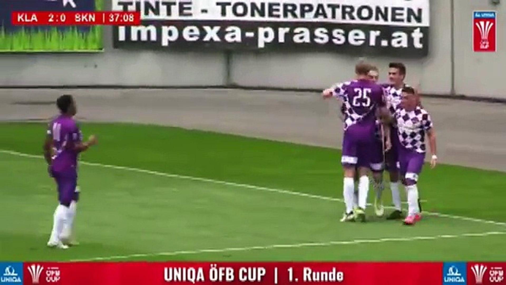 Austria Klagenfurt 2:0 Sankt Pölten (Austrian Cup 18 July 2017)