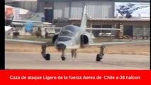 CAZA LIGERO A-36 HALCON HECHO EN CHILE,  DE ENTRENAMIENTO AVANZADO