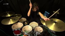 Carter Beauford influenced HH embellishment lesson by Ryo Tanaka