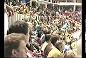 Sweden Russia 1st period Hockey World Championship 1991 Gold Medal Game Sundin, Bure