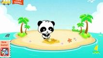 Bébé par par mignonne explorateur chasse île enfants petit Trésor avec Panda panda babybus g