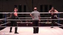 Shane Alden vs Bull James WOH wrestling ring of Honor NXT