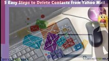 5 Easy Steps to Delete Contacts from Yahoo Mail,contactforhelp.com-yahoo