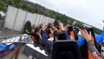 Práctico de Costa Dinamarca frente Nuevo rodillo asiento Polar x-plorer pov onride legoland billund hd
