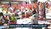 Marawi rebuilding to start after end of conflict