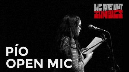 Pío   Open Mic Sessions