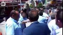 AKPli belediye başkanı özel harekat polisine saldırdı ODATV Video