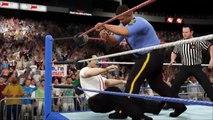 The Big Boss Man vs Irwin R. Schyster WWF Prime Time Wrestling January 1992 (WWE 2K16 Univ