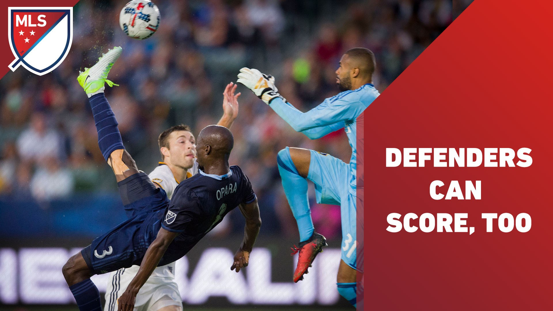 The best goals by defenders in MLS history