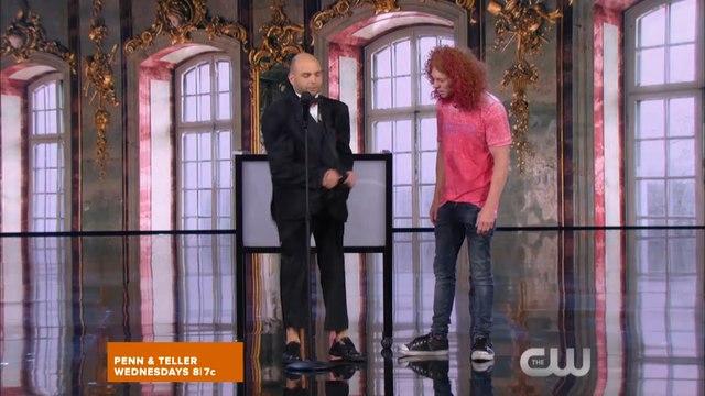 Penn & Teller: Fool Us Season 4 Episode 3 - Teller Flips a Bird | HD Online