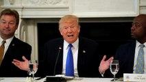 Trump menace les sénateurs républicains