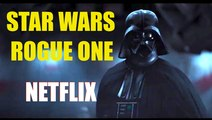 ROGUE ONE: A Star Wars Story - Darth Vader Takes on Rebel Alliance Soldiers Scene - NETFLIX