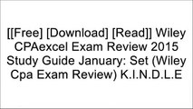 [Xaqzg.F.r.e.e D.o.w.n.l.o.a.d] Wiley CPAexcel Exam Review 2015 Study Guide January: Set (Wiley Cpa Exam Review) by O. Ray Whittington PDF