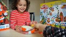 Avènement et calendrier Noël journée des œufs jouer Doh kinder surprise 3 mlp maxi kinder