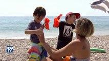 À Villeneuve-Loubet dans les Alpes-Maritimes, des plages interdites aux mineurs