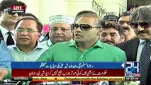 Imran Khan's father laid down the foundation stone of corruption - Abid Sher Ali complete media talk