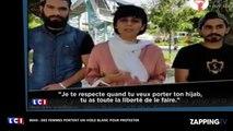 En Iran, des femmes portent un voile blanc pour protester contre le port obligatoire du voile (vidéo)