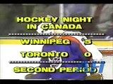 NHL Mar. 13, 1982 Borje Salming,TOR v Doug Smail,WPG Toronto Maple Leafs Winnipeg Jets