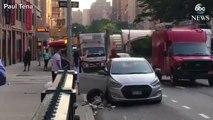 Bagarre avec une machette dans les rues de New-York