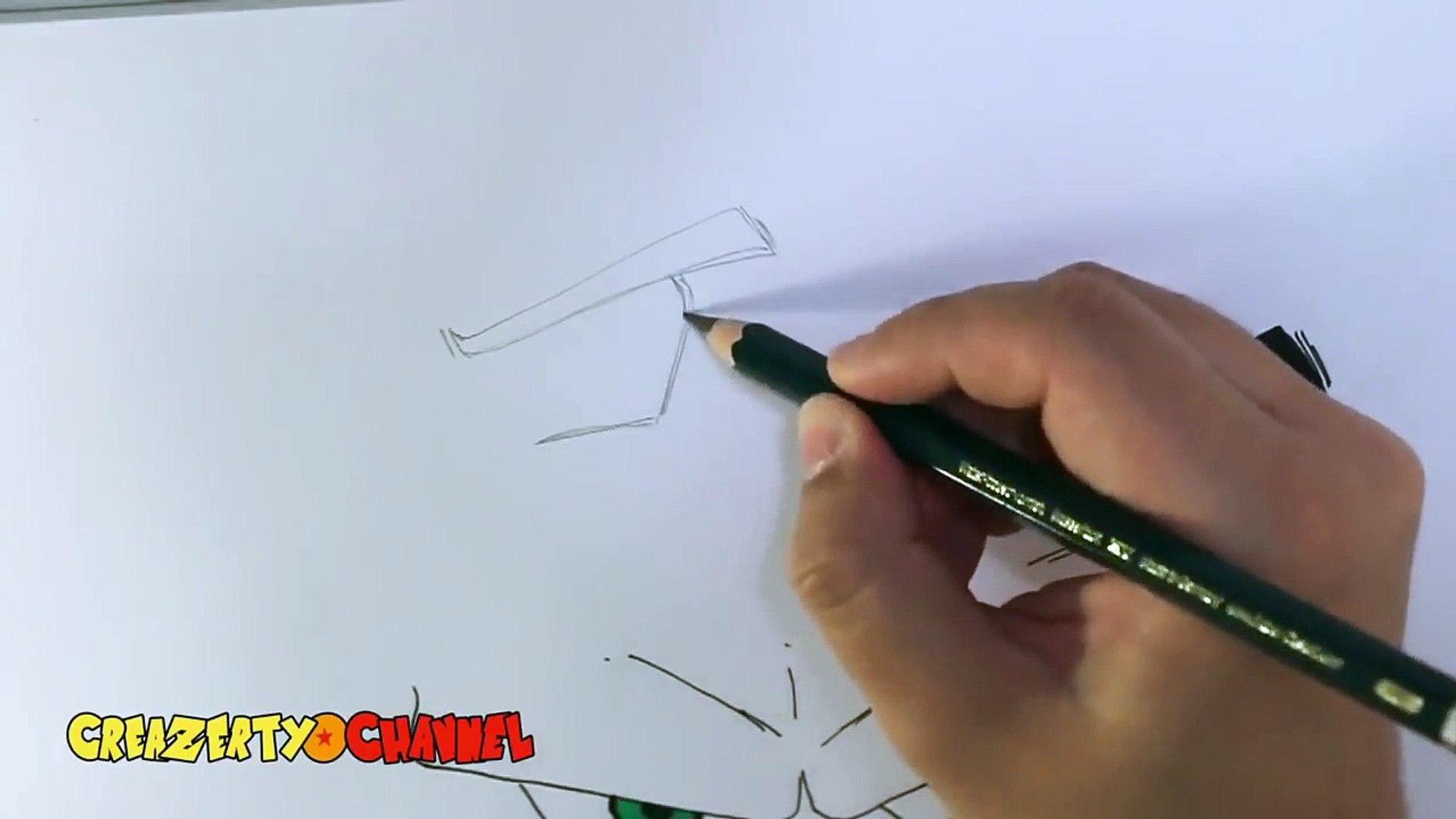 Balle Commentaire Avec Dessiner Les Yeux De Goku Dragon Tuto