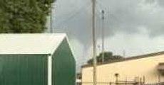 Funnel Cloud Spotted Near Morgan City, Louisiana