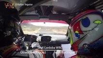 Seat Cordoba WRC Oliver Rodriguez . Iván Rodriguez ONBOARD