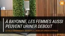 À Bayonne, les femmes aussi peuvent uriner debout