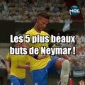 FIFA 17: les 5 plus beaux buts de Neymar