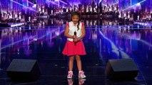 America's Got Talent : L'incroyable prestation de Angelina 9 ans qui depuis hier soir bouleverse les Etats-Unis