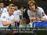 I want to be like Modric and Kroos - Ceballos