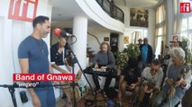 Session live avec Band of Gnawa