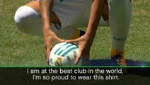 I'm at the best club in the world - Ceballos