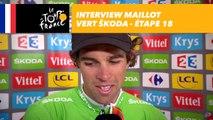 L'interview du maillot vert ŠKODA - Étape 18 - Tour de France 2017