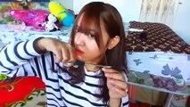 Cheveux soi bangs bang Hide-dans les cheveux coupés dans la vidéo Jean aenjeong