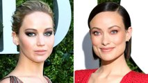 Jennifer Lawrence Vomited During a Broadway Play & Olivia Wilde Was 'Honored' | THR News