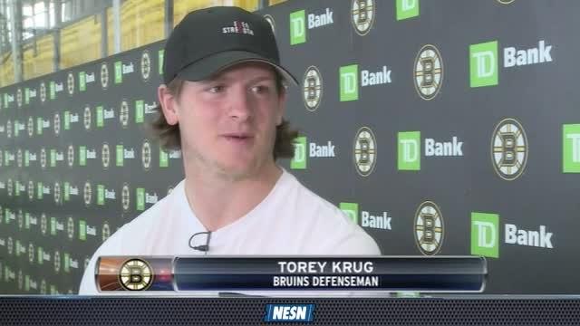Torey Krug, Bruins Heading To China To Promote Game Of Hockey