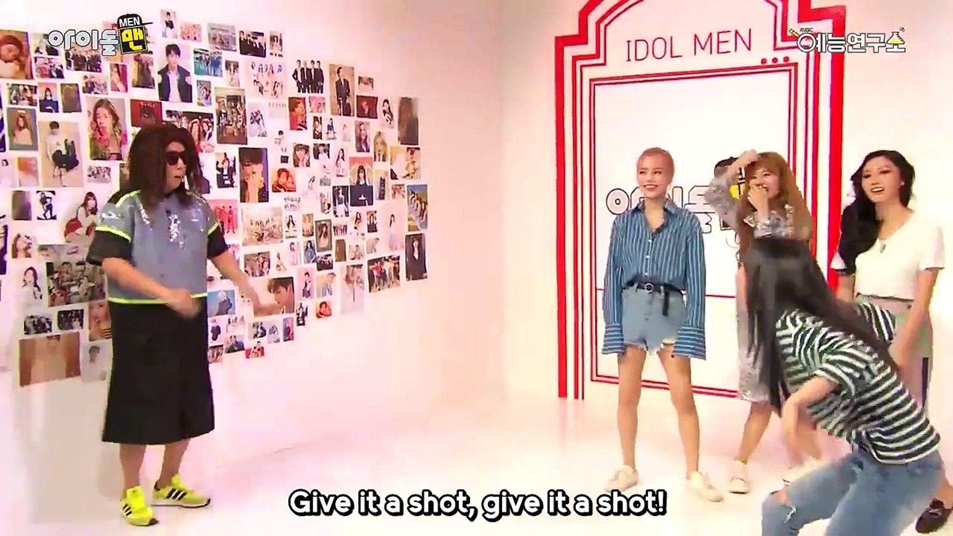 [ENG SUB] 170713 Mamamoo - Idol Men Unaired Clip