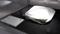 Neil Armstrong's moon bag sells at auction for $1.8 million