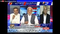 See How Javed Chaudhry Grilled Zaeem Qadri Over His Allegations on Imran Khan