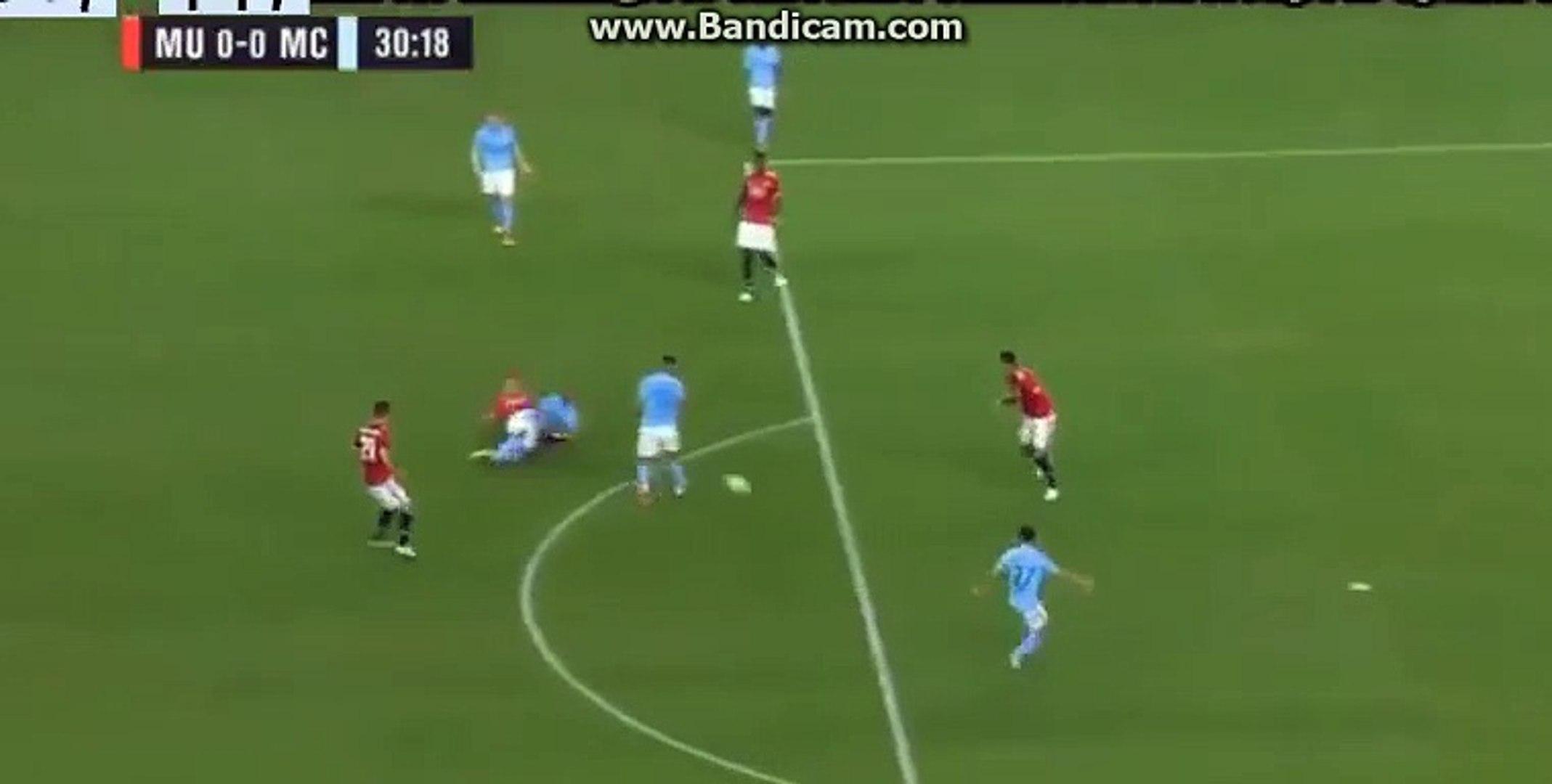 Aguero Amazing Chance -Manchester United Vs Manchester City  0-0  21/07/2017  HD