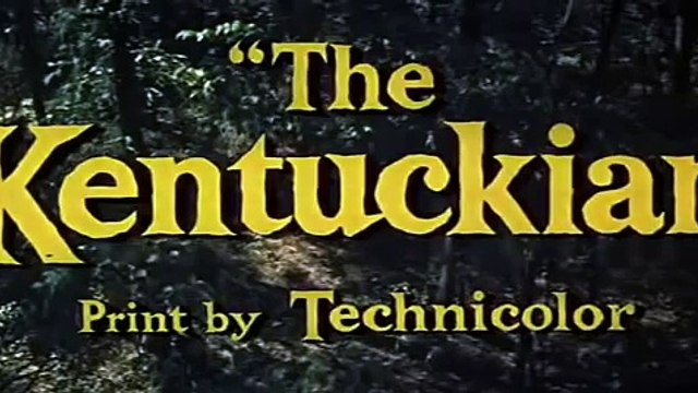 The Kentuckian 1955 BURT LANCASTER Full Length Western Movie 2