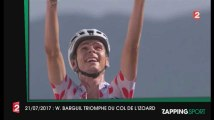 Zap Sport 21 Juillet 2017 : Warren Barguil triomphe du Col de l'Izoard