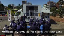Olympics: Tokyo 2020 eager to dispel fears of killer quake