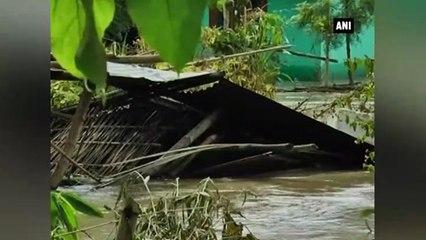 Torrential rains wreak havoc in Manipur