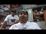 Robert Garcia If Brandon Does Ever Sparr Conor McGrgeor He Does KO Him EsNews Boxing