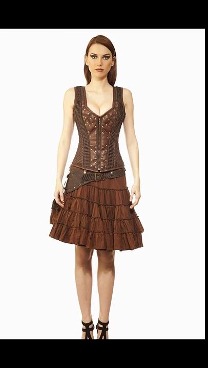 Steampunk Dress | corset dresses | viona corset