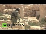 Demining Palmyra: Russian sappers at work
